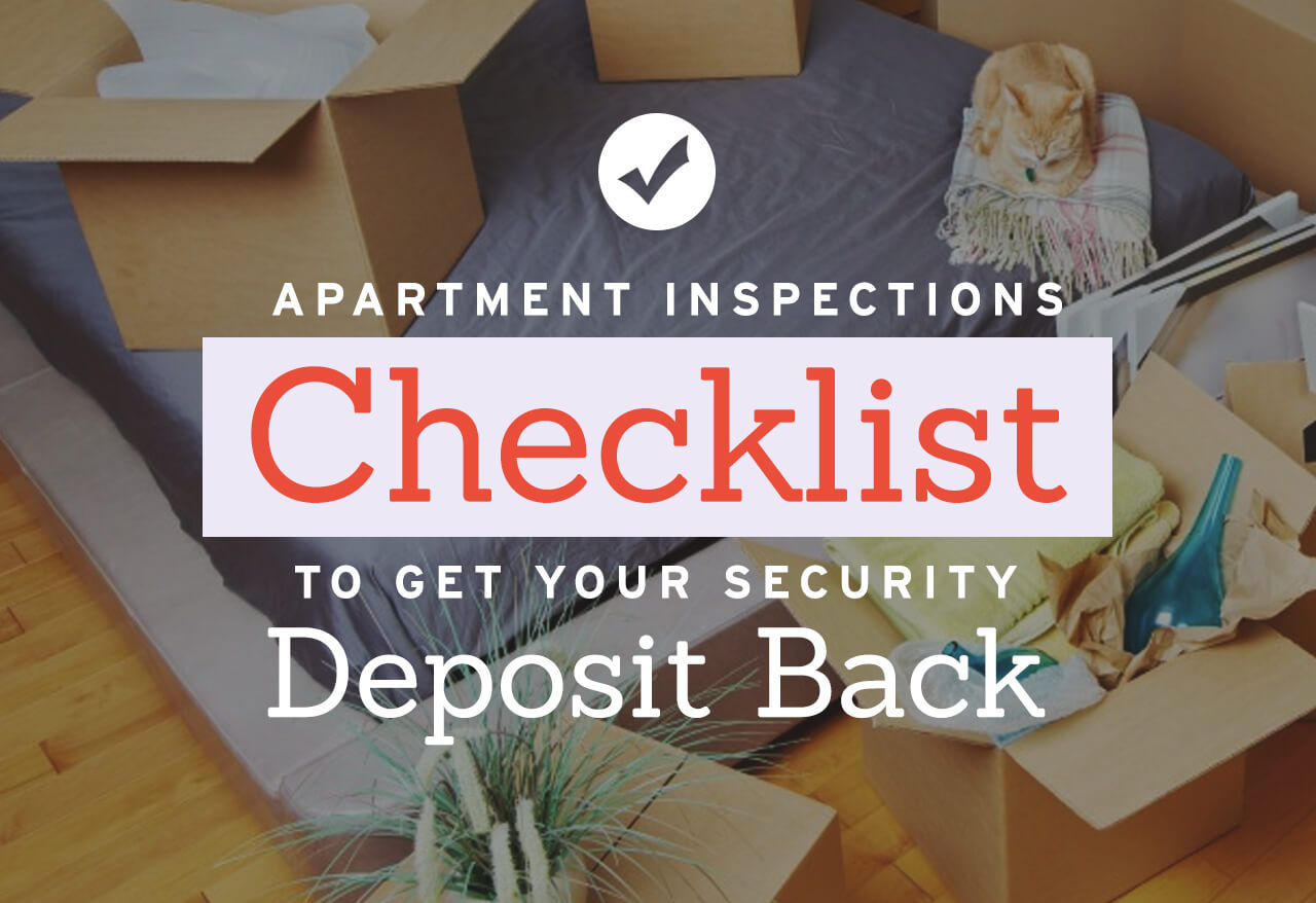 Apartment Inspections Checklist to Get Your Security ...